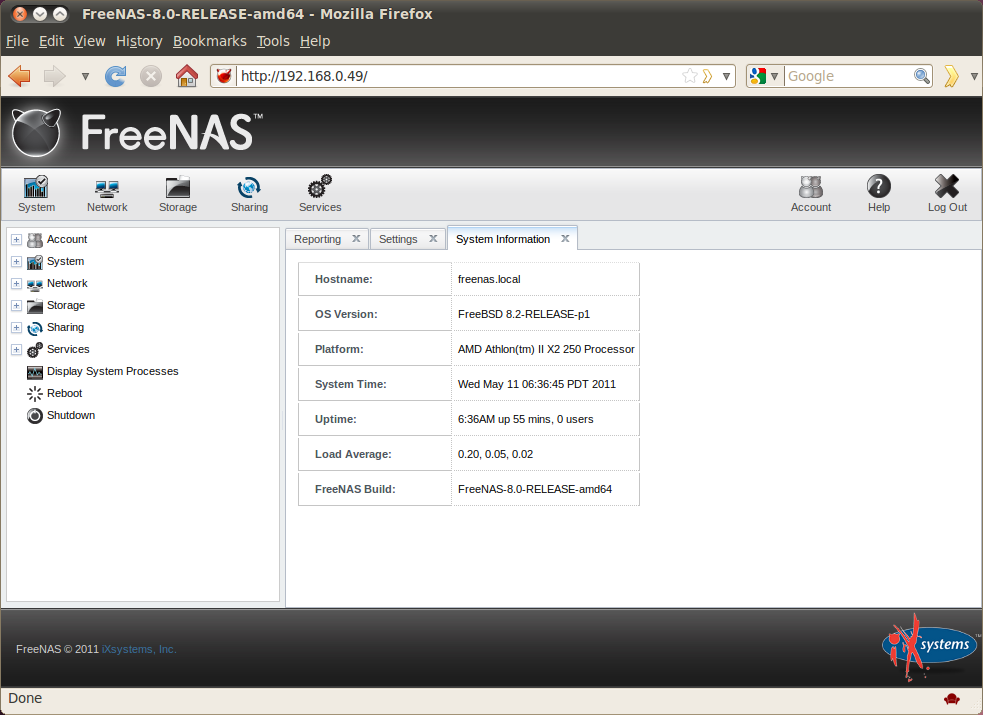 freenas Allthough it looks great I still have to some things to check out  before I install it.