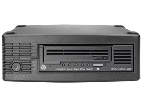 HP StoreEver LTO-6 Ultrium 6250 External Tape Drive (EH970A)