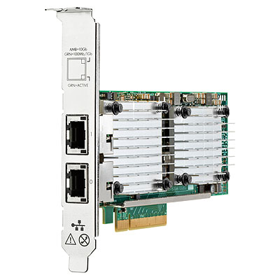 HP Ethernet 10Gb 2P 530T Adapter (656596-B21)