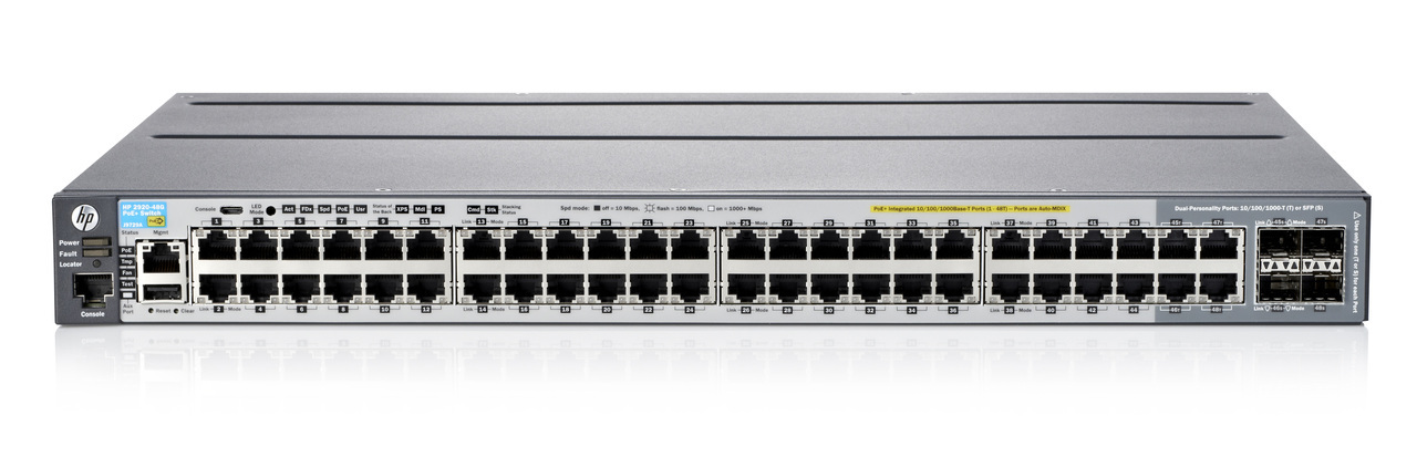 'HP 2920-48G-POE+ 740W Switch