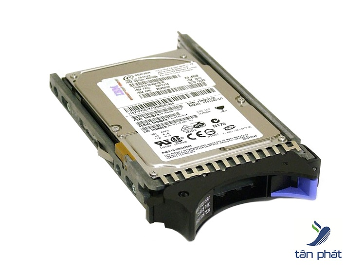 Ổ cứng IBM 600GB 15K 6Gbps SAS 2.5in G3HS  for X3650,x3500 M5 - 00AJ126