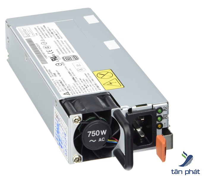 Nguồn server IBM System x 750W High Efficiency Platinum AC Power Supply for x3500 M4 - 94Y5974