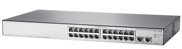 Thiết bị mạng HPE OfficeConnect 1850 24G 2XGT Switch (JL170A)