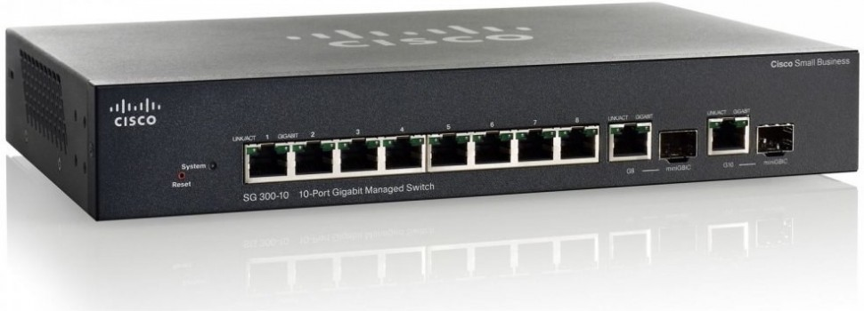 Thiết bị mạng Switch Cisco SF352-08P 8-port 10/100 POE Managed Switch