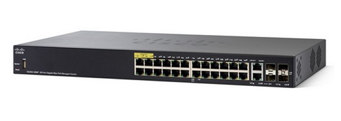 Thiết bị mạng Switch SG350-10MP 10-port Gigabit POE Managed Switch
