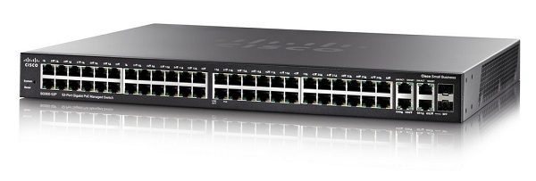Cisco SG350-52 52-port Gigabit Managed Switch