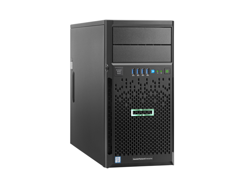 MÁY CHỦ HPE HPE PROLIANT ML30 GEN9 E3-1220V6 8GB-U B140I 4LFF 350W PS SERVER (872658-371)