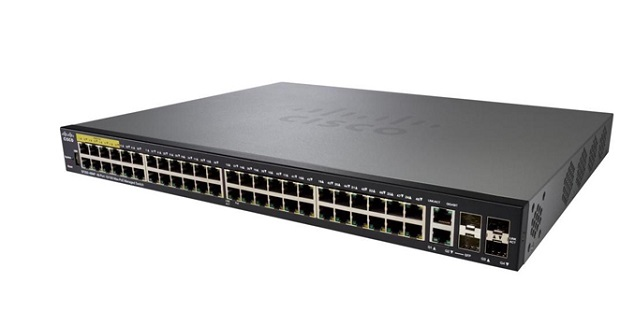 Thiết bị mạng 48-port 10/100 PoE Managed Switch CISCO SF350-48MP-K9-EU