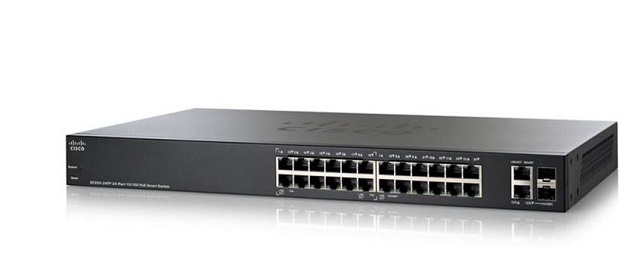 Thiết bị mạng 26-Port Gigabit PoE Smart Switch CISCO SG250-26HP-K9-EU